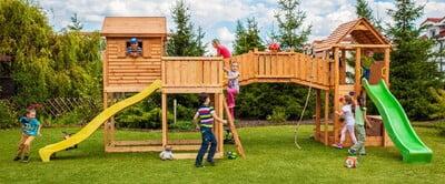Детские площадки для частного дома
