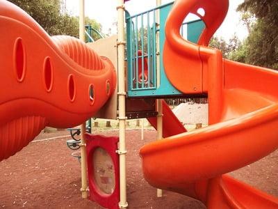 Пластиковые детские площадки для улицы