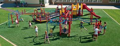 Детская площадка для школы