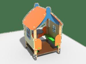 Детский игровой домик 004