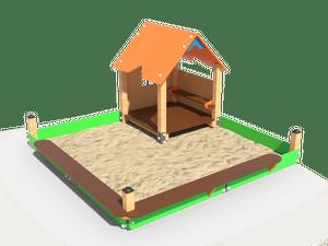 Детский игровой домик 028