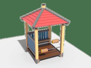 Детский игровой домик 008