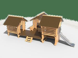 Детский игровой домик 031