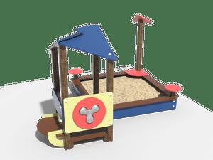 Детский игровой домик 027