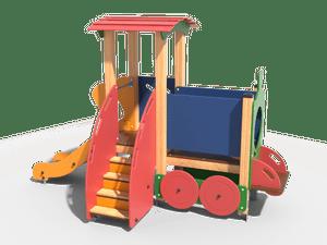 Горка детской игровой площадки 022