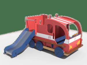 Горка детской игровой площадки 023