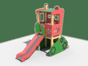 Горка детской игровой площадки 024