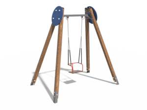 Качели детской игровой площадки 014