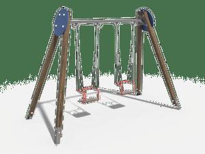 Качели детской игровой площадки 015