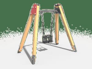 Качели детской игровой площадки 017