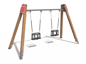 Качели детской игровой площадки 018
