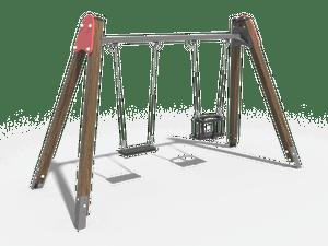 Качели детской игровой площадки 019