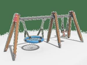 Качели детской игровой площадки 023