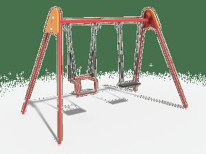Качели детской игровой площадки 026