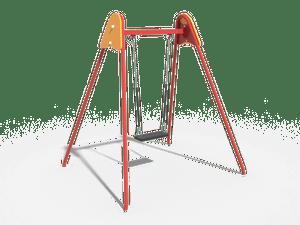Качели детской игровой площадки 027