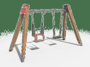 Качели детской игровой площадки 006