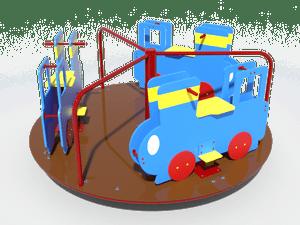 Детская карусель Паровозик
