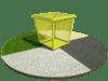 Сетчатый контейнер 02 (с крышкой)