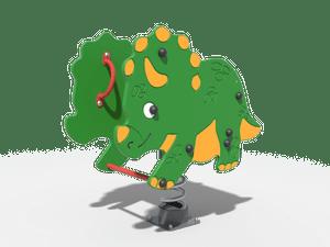 Качалка детской игровой площадки Динозавр