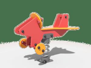 Качалка детской игровой площадки Самолет