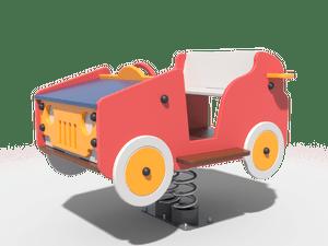 Качалка детской игровой площадки Кабриолет