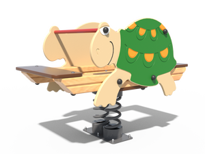 Качалка детской игровой площадки Черепаха