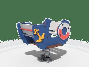Качалка детской игровой площадки Кораблик