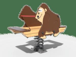 Качалка детской игровой площадки Горилла