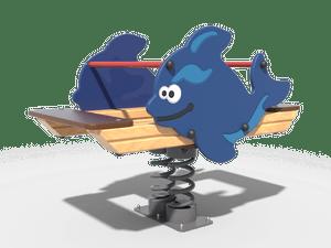 Качалка детской игровой площадки Касатка