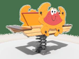 Качалка детской игровой площадки Краб