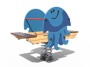 Качалка детской игровой площадки Медуза