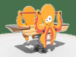 Качалка детской игровой площадки Осьминог