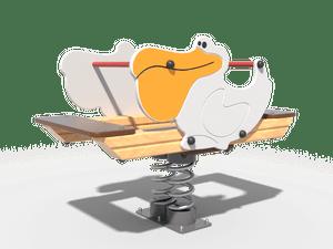 Качалка детской игровой площадки Пеликан