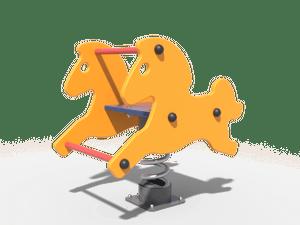 Качалка детской игровой площадки Лошадка