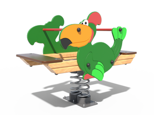 Качалка детской игровой площадки Попугай