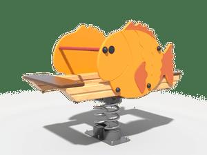 Качалка детской игровой площадки Рыба-шар