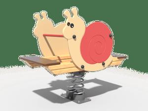 Качалка детской игровой площадки Улитка
