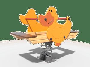 Качалка детской игровой площадки Утка