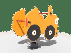Качалка детской игровой площадки Такси