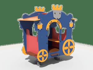 Качалка детской игровой площадки Карета