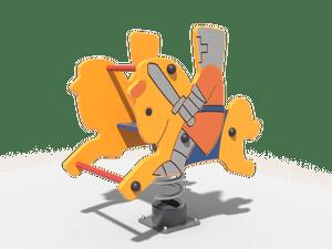 Качалка детской игровой площадки Рыцарь