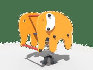 Качалка детской игровой площадки Слон