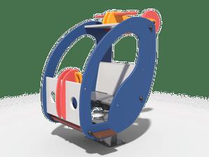 Качалка детской игровой площадки Вертолёт