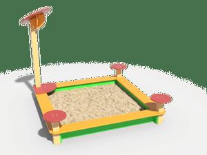 Детская игровая песочница 010