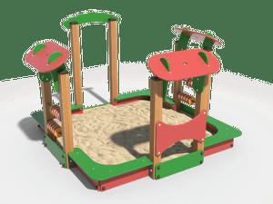 Детская игровая песочница 012