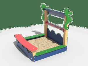 Детская игровая песочница 013
