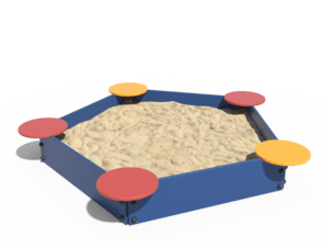 Детская игровая песочница 015