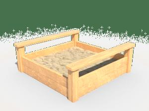 Детская игровая песочница 004