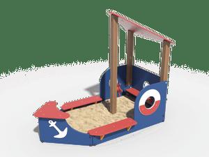 Детская игровая песочница 005