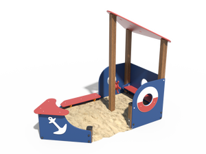 Детская игровая песочница 006